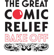 Great Comic Relief Bake Off logo and link to their website